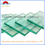 3-19mm clair poli plat en verre trempé