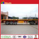 3 Aanhangwagen van de Container van assen 40FT Flatbed