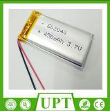3.7V Batterij van de Cel van het Lithium 602040 450mAh de Ionen