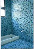 Mosaico cristalino azul agrietado (CC186)