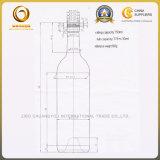 Parte superior do parafuso de 750ml garrafa de vinho Bordeaux Estilo no AG (578)