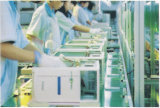 Spitzenwegwerfhandschuh-Puder-freie Vinylhandschuhe für Lebensmittelindustrie