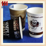 Beber caliente taza de papel desechables con Costomizable Imprimir