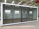 Negozio del contenitore della parete di vetro della Cina/casella di sentinella/contenitore prefabbricati di caffè