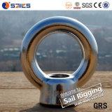 Noix SS304/316 d'oeil de l'acier inoxydable solides solubles