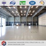 Estrutura de aço leve Sinoacme Hangar de avião