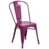Металлические Tolix обеденный стул с медным бронзовый промышленных кафе в саду наращиваемые сиденья