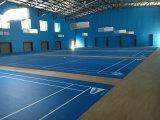 Badminton interno/ao ar livre do PVC ostenta o assoalho da corte