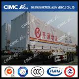 Cimc Huajun Hot Sale Van/Box Semi Trailer mit Side Curtaiin