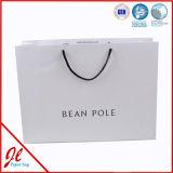 Elegante papel Euro Bolsas de regalos con cuerdas de algodón