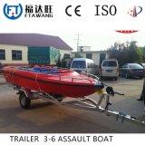Hochleistungstransport-Yacht-Boots-Schlussteil mit Rolle