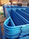 PVC上塗を施してある牛畜舎のパネルが付いている5ftx10FT電流を通された鋼鉄