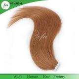 もつれ無し人間の毛髪の拡張の取除くブラジルの毛のバージンの毛の卸売テープ無し
