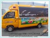 스테인리스 음식 트럭을%s 전기 음식 트럭 장비