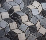 部屋の装飾のための2017のスペシャル・イベントの菱形の大理石のモザイク