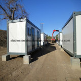 Maison préfabriquée commerciale de conteneur pour le camp de travail