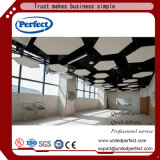 Panneau de plafond décoratif suspendu par fibre minérale acoustique