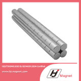 ISO/Ts16949 de Gediplomeerde Permanente Magneet van het Neodymium van de Schijf N35-N52/van de Cilinder met Super Macht