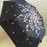 Fábrica promocional Small 3 Folds Cheap Gift Umbrella
