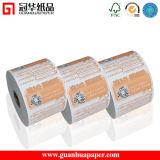 Rollos de papel térmico ISO 80mm para caja registradora de la máquina, el cajero automático