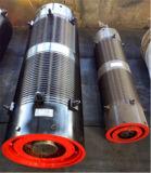 Het elektrische Karretje die van het Hijstoestel of van de Kruk de Trommel van de Kabel van de Draad gebruiken