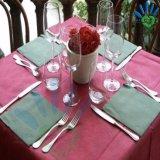 Nicht gesponnene Gewebe farbige Tischdecke