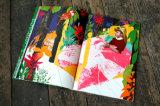 Nueva impresión del libro de la belleza de la impresión del libro de la impresión del compartimiento de manera del diseño