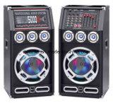 Nouveau haut-parleur de karaoke pré-professionnel bluetooth de 8 pouces