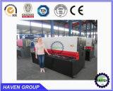 Schwingen-Träger-Platten-Scher-und Ausschnitt-Maschine CNC-QC12K-20X6250 hydraulische