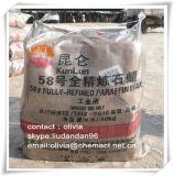 Bougie Utilisation de la cire de paraffine entièrement raffinée 58-60 deg. C