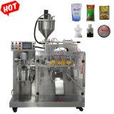 Beurre de cacahuète// salade de pâte de tomate crème/machine de conditionnement d'emballage automatique