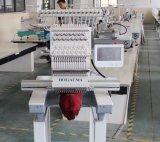 Máquina principal del bordado del ordenador del casquillo de la venta 1 superior/máquina comercial del bordado para el asunto feliz