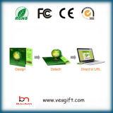 Foldable 카드 USB 기억 장치 자동차 실행 웹사이트 Webkey