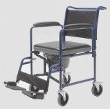 Aço, Dobrável e com rodas, Cadeira de comodo (YJ-7100C)