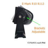 Pouce optique pilotant du guide 30 du CREE DEL de véhicule de barre d'éclairage LED d'Emark des prix de Facrtory 180W EMC pour le véhicule