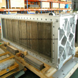 産業高温抵抗を冷却する蒸気すべての溶接された版の熱交換器