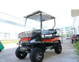 4 strapontins électriques approuvés de dos d'arrière de chariot de golf de chasse de la CE de passager