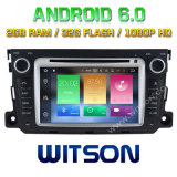 Witson Octa-Core (Eight Core) DVD de voiture Android 6.0 pour Mercedes-Benz Smart 2010-2014 2g ROM 1080P Touch Screen 32 Go ROM