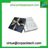 Contenitore di regalo cosmetico di timbratura caldo del cartone del fiore dell'anello dei monili