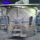 Verwendetes 100kg - 5ton Coreless Mittelfrequenzinduktions-schmelzender Ofen