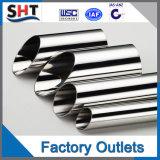 SUS201, 304, pipe soudée de l'acier inoxydable 316