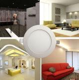 Redonda 15W LED Panel de luz de superficie montado LED luz de techo