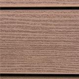 La venta caliente WPC que enclavija Decking plástico embaldosa los azulejos de suelo de madera de DIY