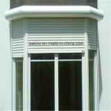 Wohnaluminiumrollen-Blendenverschluss-Fenster