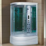 1200mm Sector sauna de vapor con bañera y ducha (AT-G1285AF)