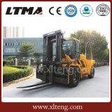 Grande carrello elevatore della Cina un carrello elevatore a forcale diesel da 25 tonnellate