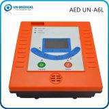 Defibrillator externo automatizado portátil de primeiros socorros com software do PC