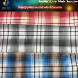 Tessuto per la camicia casuale, tessuto dell'assegno tinto filato filato poliestere di Shirting del poliestere