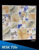 """12X12 """" 5Dの磨かれた水晶小石の床タイル1312年"""