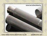 Tubo perforato dell'acciaio inossidabile 201 per il silenziatore dello scarico dei ricambi auto